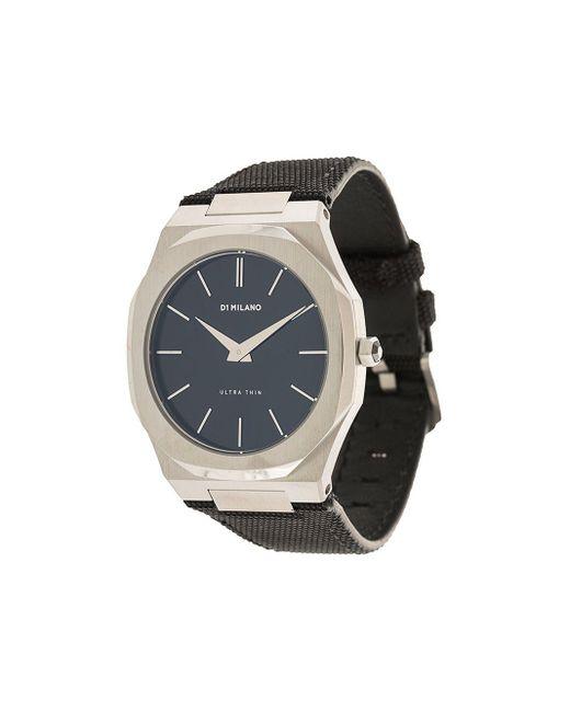 メンズ D1 Milano Ultra Thin 腕時計 Black