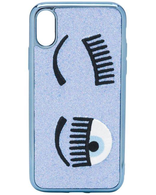 Chiara Ferragni Flirting Iphone Xs ケース Blue