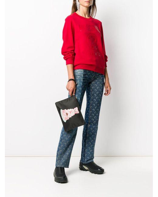 Moschino ロゴ スウェットシャツ Red