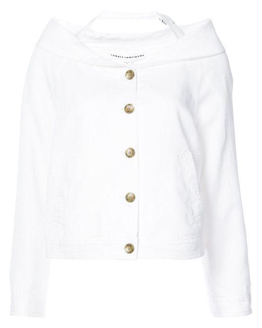 Robert Rodriguez | White Cut-detail Blazer | Lyst