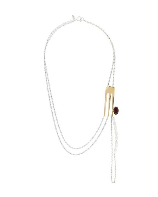 Wouters & Hendrix | Metallic Curiosities Fork Necklace | Lyst