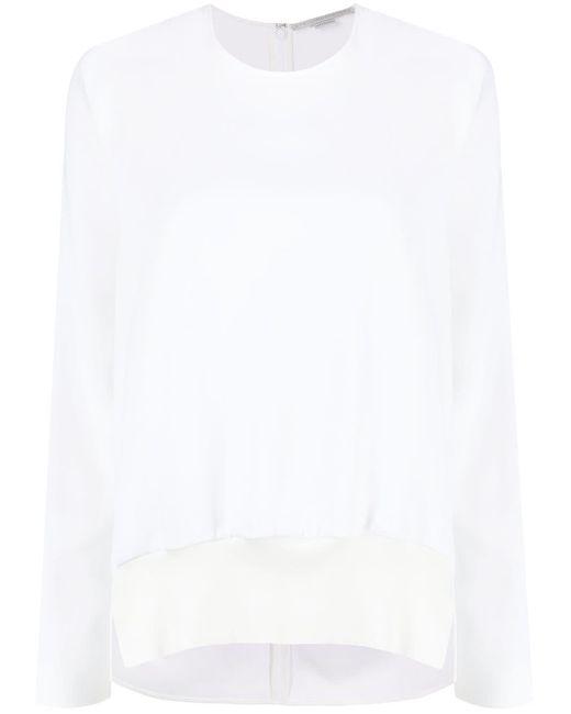 Haut à manches longues Stella McCartney en coloris White
