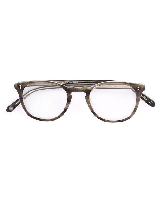 Garrett Leight   Gray - 'kinney' Glasses - Unisex - Acetate - 47   Lyst