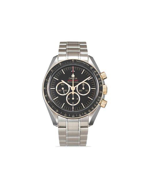 Наручные Часы Speedmaster Professional Moonwatch Tokyo Olympic Pre-owned 42 Мм 2020-го Года Omega для него, цвет: Black