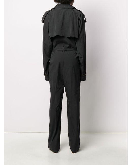 Bottega Veneta ベルテッド ジャンプスーツ Black