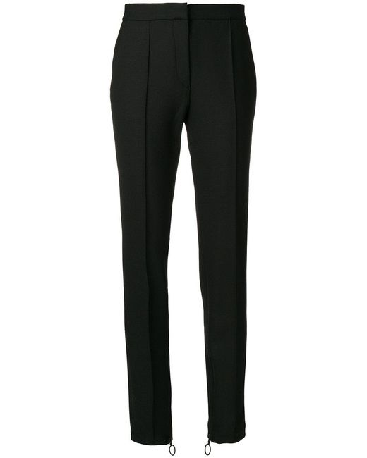 Off-White c/o Virgil Abloh - Black Tailored Trousers - Lyst