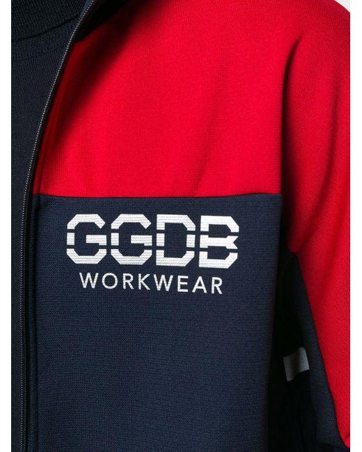 メンズ Golden Goose Deluxe Brand カラーブロック ジャケット Blue