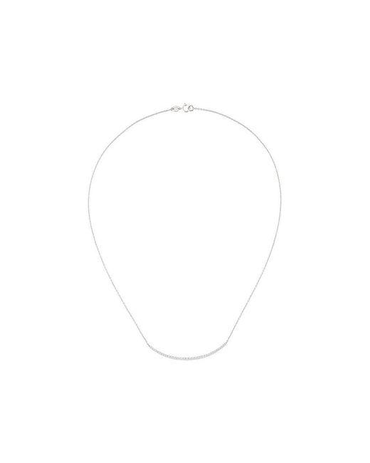 Wouters & Hendrix - White Diamond Pavé Necklace - Lyst