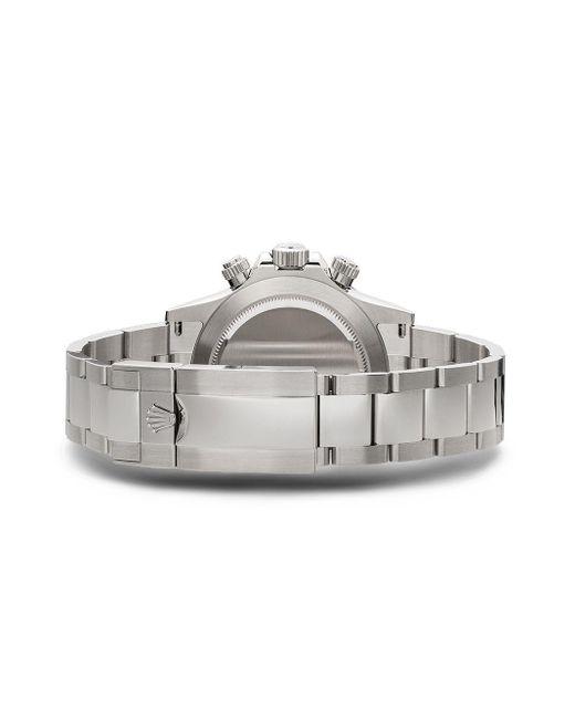 Наручные Часы Cosmograph Daytona 46 Мм Pre-owned Rolex для него, цвет: Metallic