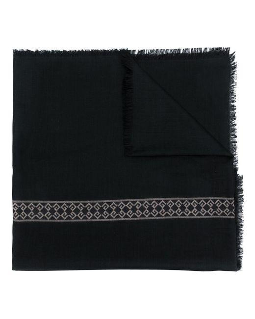 Givenchy ロゴエンブロイダリー スカーフ Black