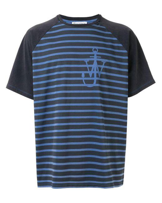 メンズ J.W. Anderson Anchor Tシャツ Blue