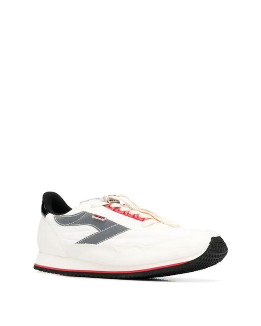 メンズ Represent レースアップ スニーカー White
