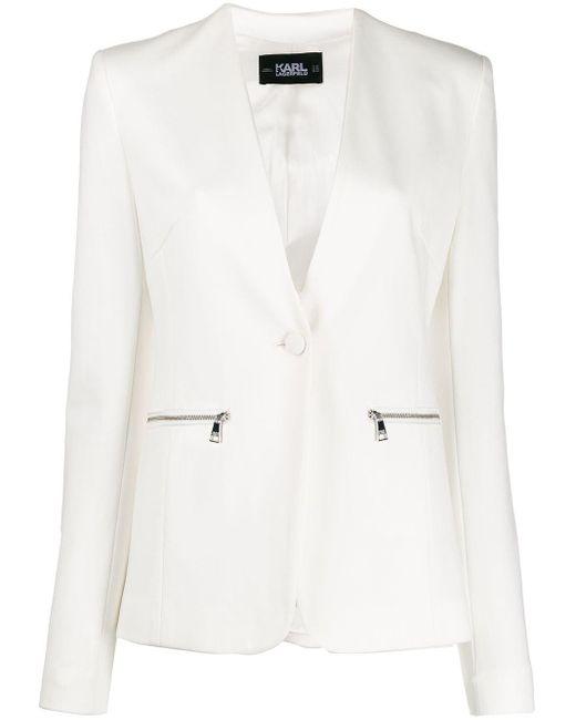 Karl Lagerfeld Punto ジャケット White