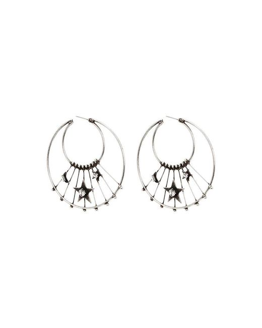 DANNIJO - Metallic Fynn Earrings - Lyst