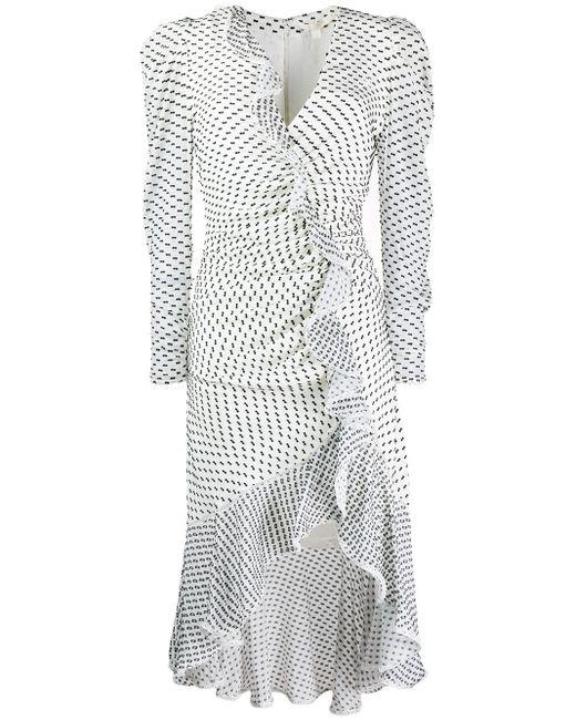 Jonathan Simkhai シャーリング ドレス Multicolor