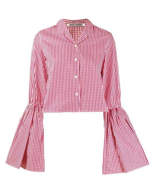 Jourden フレアスリーブ シャツ Pink
