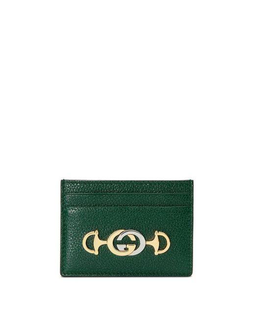 Gucci グッチ ズゥミ カードケース Green