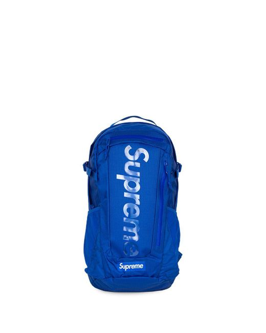 Supreme ロゴ Ss 21 バックパック Blue
