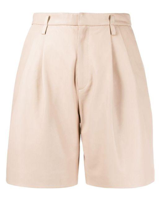 RED Valentino High Waist Shorts in het Pink