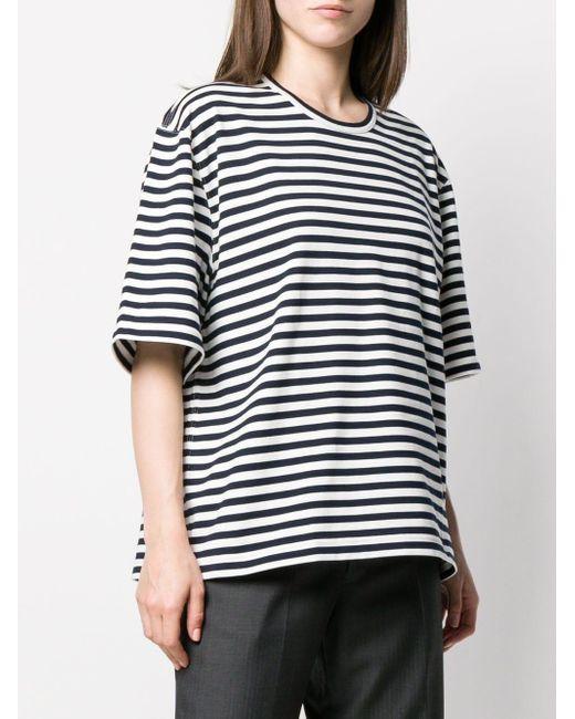 Junya Watanabe カットアウト Tシャツ Blue