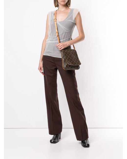 Сумка Через Плечо Musette Salsa Pre-owned Louis Vuitton, цвет: Brown
