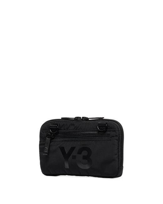 メンズ Y-3 ブラック And オフホワイト Ch2 Gfx ポーチ Black