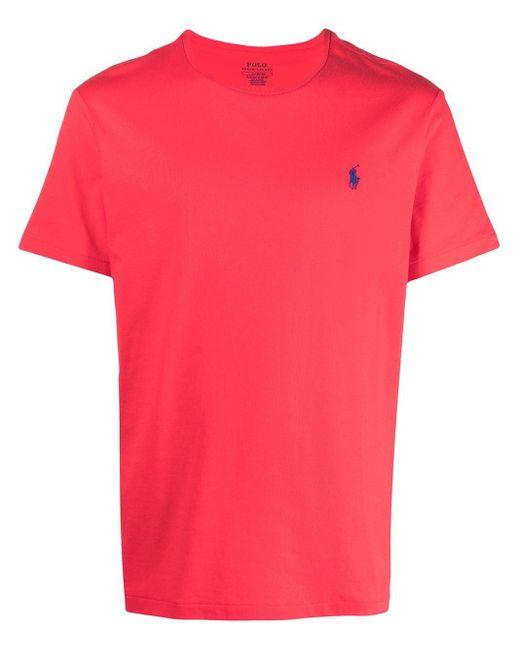メンズ Polo Ralph Lauren Polo Pony Tシャツ Red