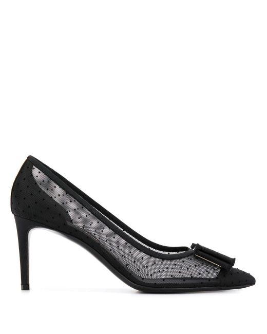 Туфли-лодочки Vara Bow Ferragamo, цвет: Black