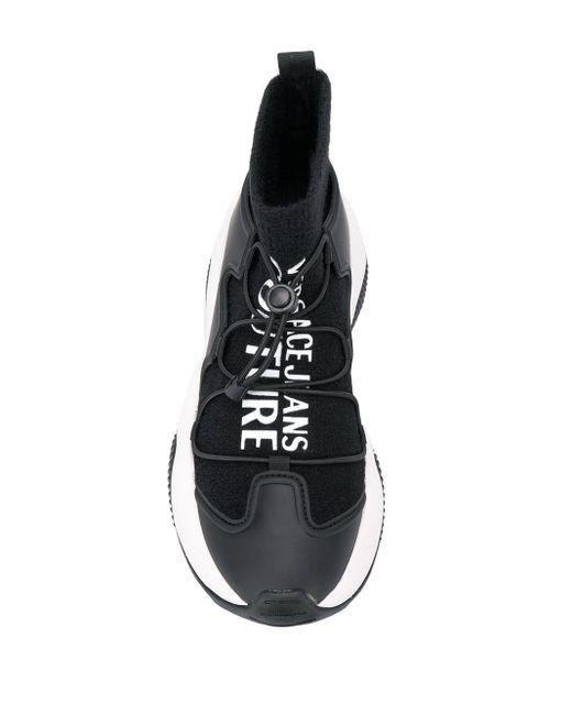 Versace Jeans ソックススニーカー Black