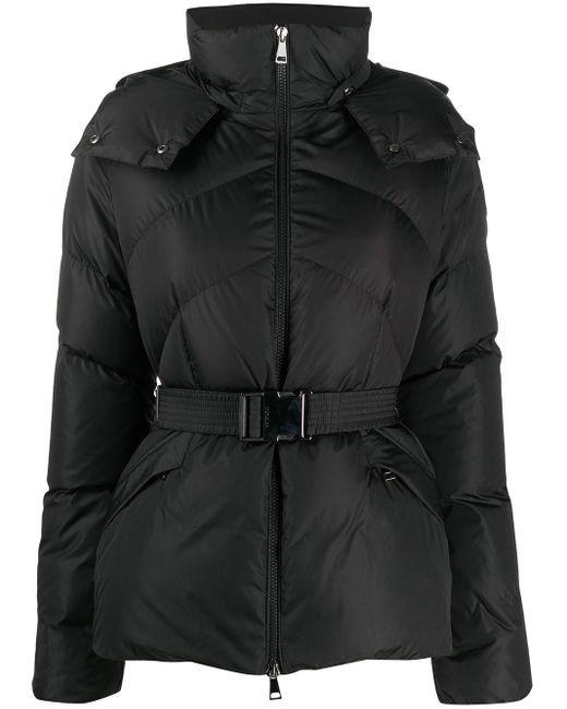 Moncler ベルテッド パデッドジャケット Black