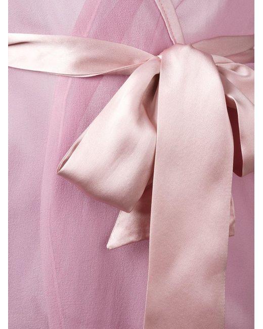 Gilda & Pearl Diana キモノスタイル ナイトウェア Pink