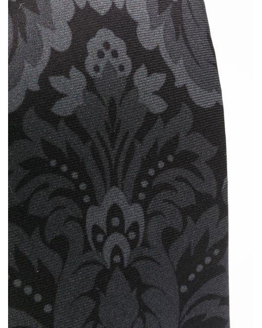 メンズ Dolce & Gabbana プリント ネクタイ Black