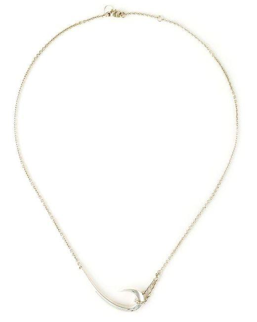 Shaun Leane - Metallic 'hook' Necklace - Lyst