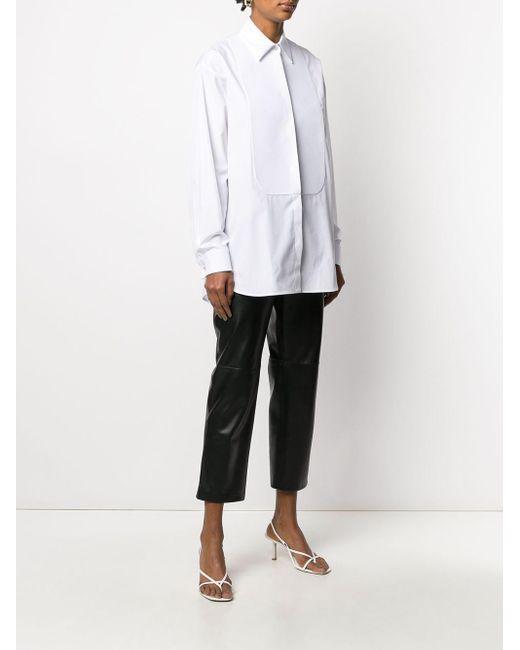 Camisa de manga larga con botones Givenchy de color White