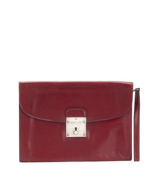 Клатч Jet 1970-х Годов Pre-owned Hermès, цвет: Red