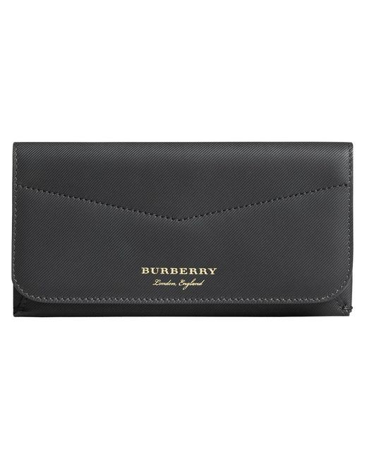 Burberry - Black Envelope Wallet - Lyst