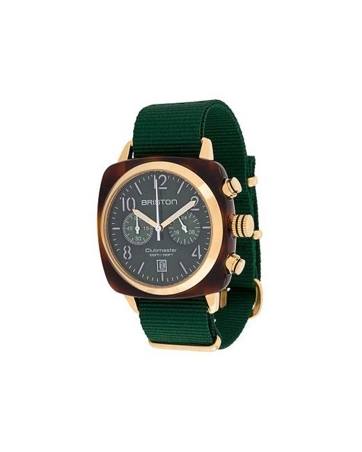 Наручные Часы Clubmaster Classic 40 Мм Briston, цвет: Green