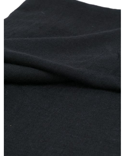 メンズ Rick Owens ニット スカーフ Black