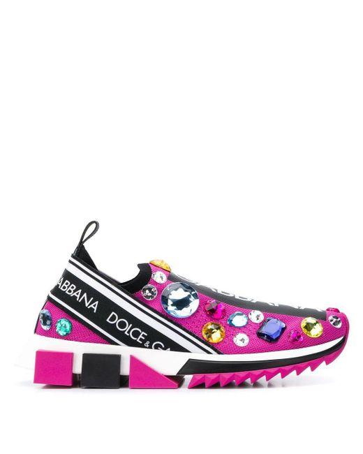 Dolce & Gabbana ソレント スリッポンスニーカー Multicolor