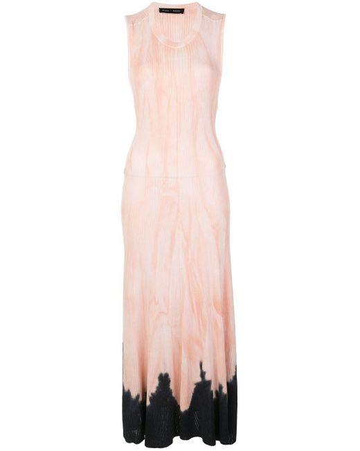 Длинное Трикотажное Платье С Принтом Тай-дай Proenza Schouler, цвет: Pink