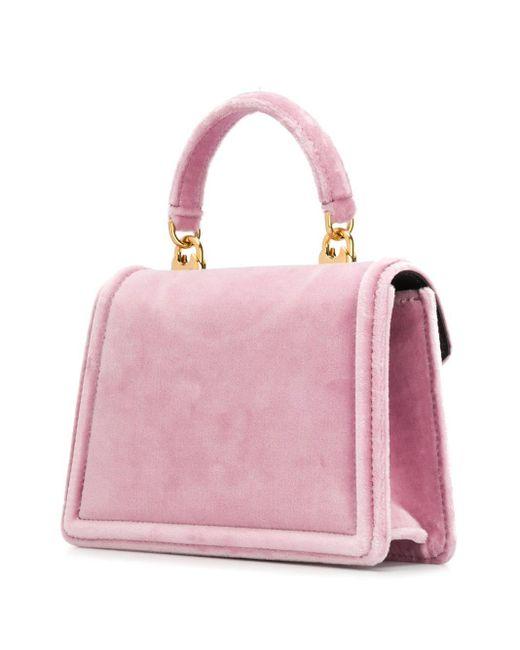 Dolce & Gabbana Devotion ハンドバッグ ミニ Pink