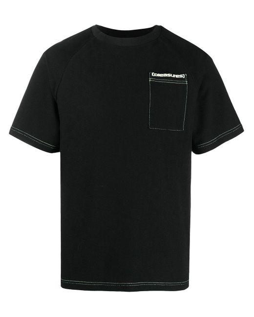 メンズ Pleasures Vulgar Tシャツ Black