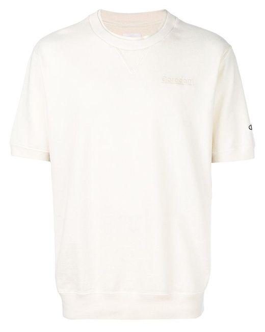 Champion - White Short Sleeve T-shirt for Men - Lyst