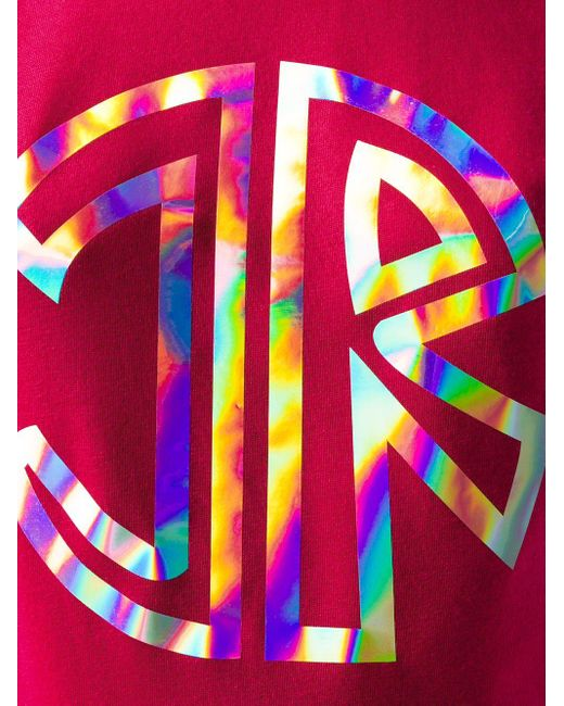 John Richmond Alla ロゴ Tシャツ Pink