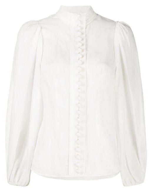 Zimmermann White Klassische Bluse