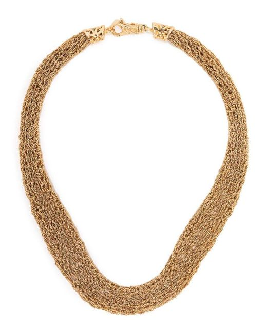 Emanuele Bicocchi Metallic Crocheted Necklace