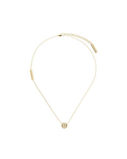 Marc Jacobs - Metallic Disc-pendant Necklace - Lyst
