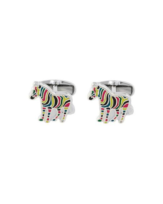 Boutons de manchette zèbre Paul Smith pour homme en coloris Multicolor
