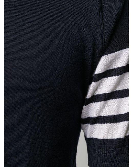 メンズ Thom Browne ポロシャツ Blue