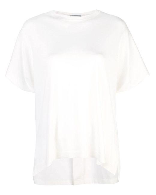 Dusan オーバーサイズ Tシャツ White